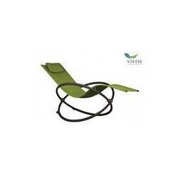 Vivere - Orbital Lounger Single Green Apple