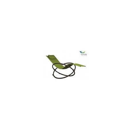 Vivere - Orbital Lounger Single Green Apple