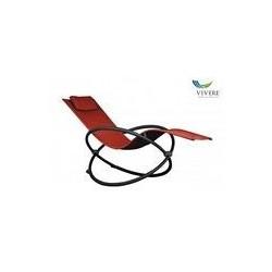 Vivere - Orbital Lounger Single Cherry Red