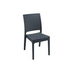 SIESTA EXCLUSIVE; Židle FLORIDA šedá