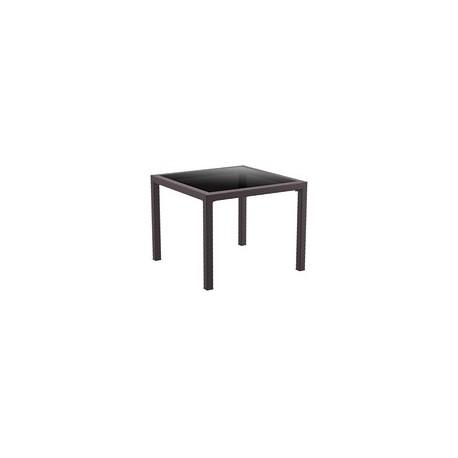 SIESTA EXCLUSIVE; Stůl BALI hnědý