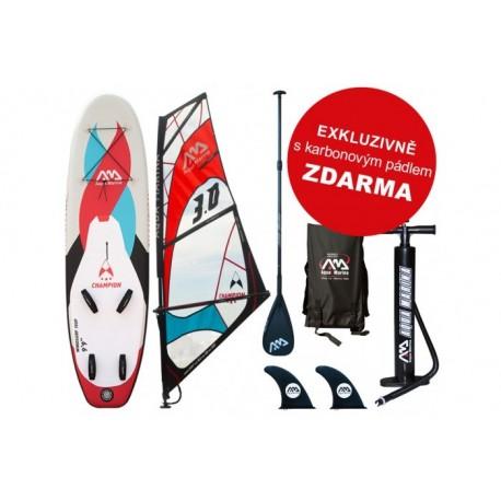 AQUA MARINA Nafukovací windsurf CHAMPION - AKCE