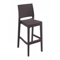 SIESTA EXCLUSIVE; Barová židle JAMAICA hnědá