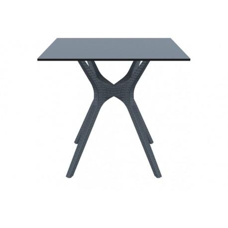 SIESTA EXCLUSIVE; Stůl IBIZA 80 šedý