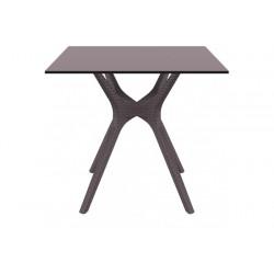 SIESTA EXCLUSIVE Stůl IBIZA 80 hnědý