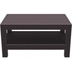 SIESTA EXCLUSIVE; Stůl MONACO hnědý