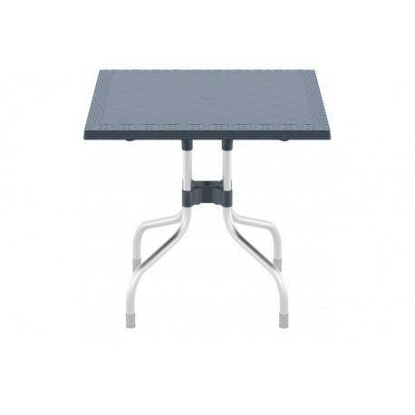 SIESTA EXCLUSIVE; Stůl FORZA 80 šedý