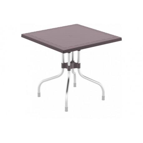 SIESTA EXCLUSIVE; Stůl FORZA 80 hnědý
