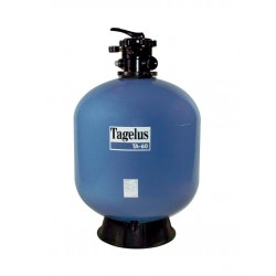 Filtrační nádoba TAGELUS - TA 100,762 mm,22 m3/h,6-ti cest. top-ventil