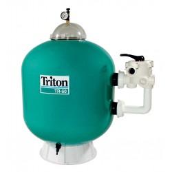 Filtrační nádoba TRITON - TR 40,480 mm,9 m3/h,6-ti cest. boční ventil