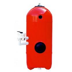 Filtrační nádoba San Sebastian 640mm,6-ti cest. boč.ventil,lože 1m