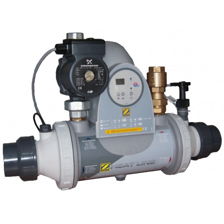 Tepelný výměník – kompaktní jednotka Titan 20 kW