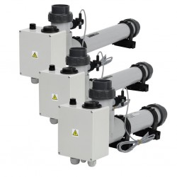 Topení EOVTi-3, 3 kW, 3 x 230 V, Titan s el. průtokovou klapkou