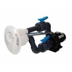 Protiproud V-JET 66 m3/h, 230 V, 2,2 kW, pro fóliové a předvyrobené baz., potrubí d 75 mm