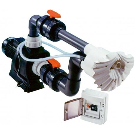 Protiproud K-JET Sena -- 45 m3/h, 400 V, 2,8 kW, pro fólii a předvyrobené baz.