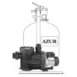 Filtrační zařízení Azur KIT 380 6m3/hod BE - propojovací potrubí