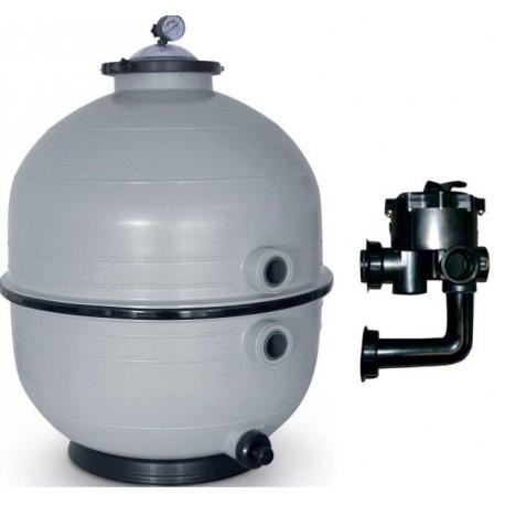 Filtrační zařízení - KIT MIDI 500, 8 m3/h, 230 V, 6-ti cest. boč. ventil, čerp. Bettar